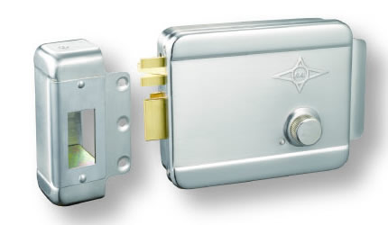 AX003 sand nickel single cylinder left lock